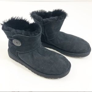 UGG | Mini Bailey Button Black Boot | 3352 (NWOT)